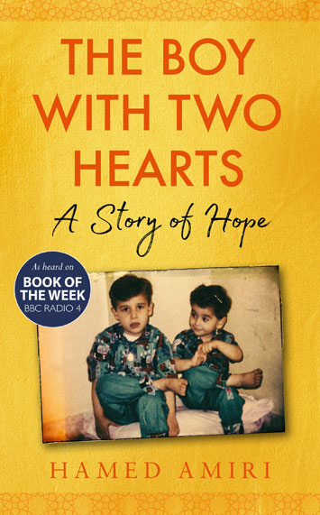 The Boy With Two Hearts Hamed Amiri cover