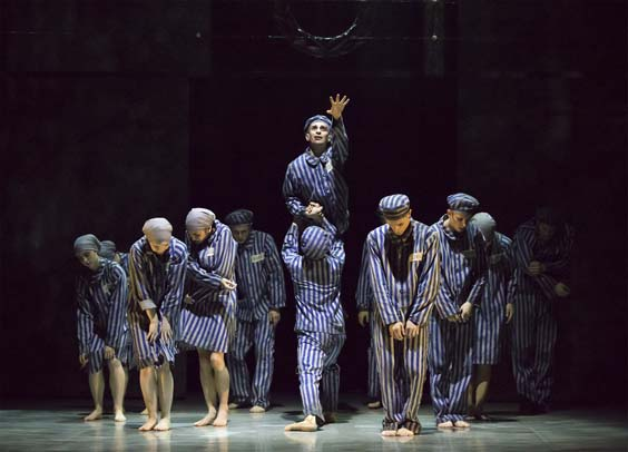 The Boy in the Striped Pyjamas Northern Ballet dancers Photo Emma Kauldhar