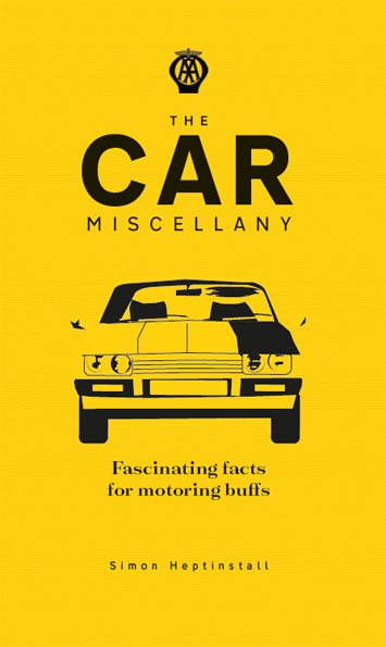 The Car Miscellany Simon Heptinstall Book Review cover