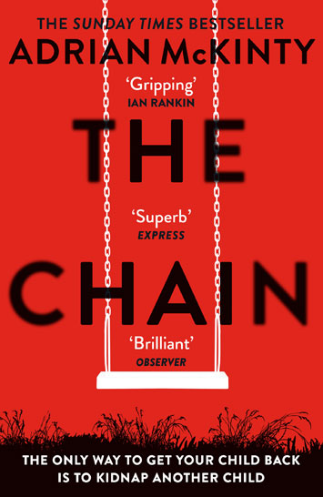 The Chain by Adrian McKinty book Review cover