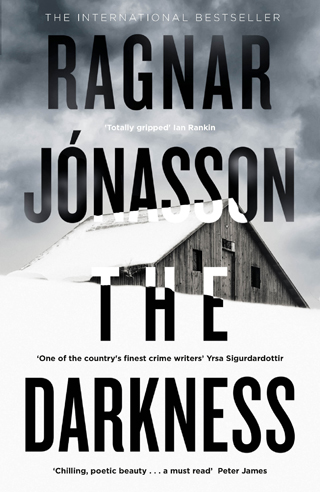 The Darkness Ragnar Jónasson book review cover