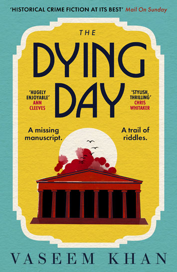 The Dying Day by Vaseem Khan book Review cover