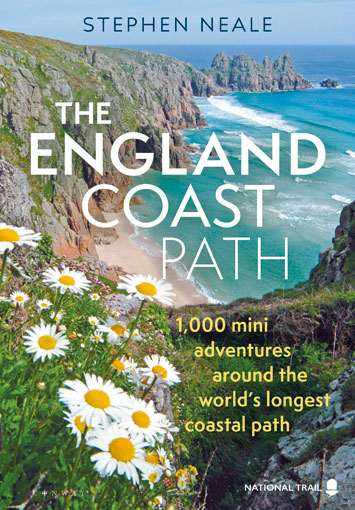 The England Coast Path by Stephen Neale Book Review cover