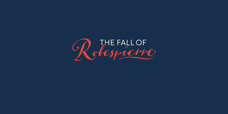 The Fall of Robespierre Colin Jones book Review logo