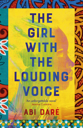 The Girl With The Louding Voice Abi Daré book review cover
