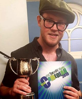 The Great Yorkshire Fringe New Comedian of the Year – Final winner