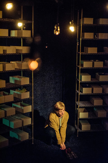 The Greatest Play in the History of the World – Review – York Theatre Royal set