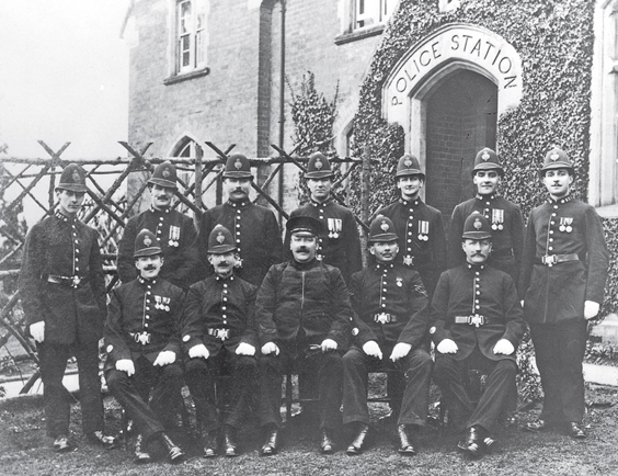 The Historic Gangs of Sheffield police