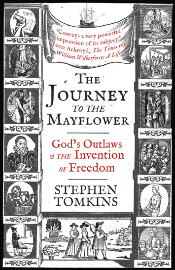 The Journey to The Mayflower Stephen Tompkins Book Review cover