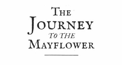 The Journey to The Mayflower Stephen Tompkins Book Review logo main
