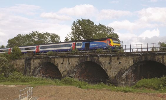 The Manchester and Leeds Railway history bridge