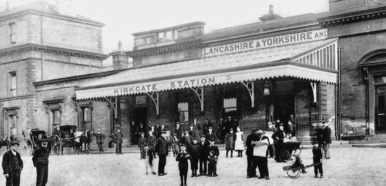 The Manchesterand Leeds Railway history station