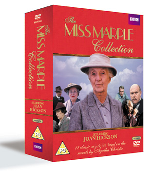 The Miss Marple Collection dvd review cover