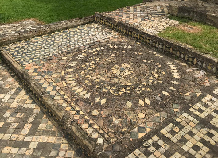 The Mosaics at Byland Abbey history