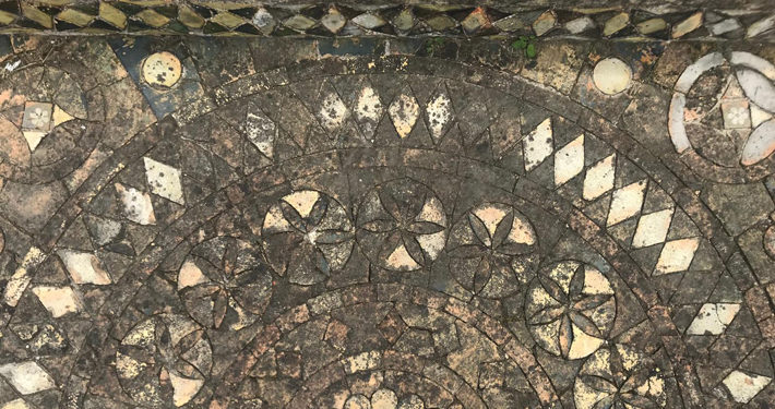 The Mosaics at Byland Abbey main