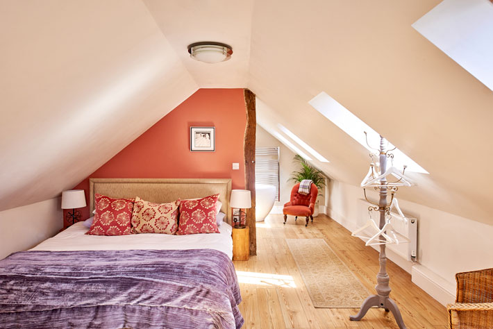 The Old Forge Peak District review bedroom