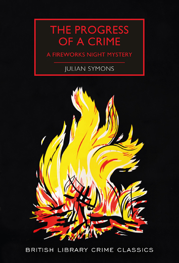 The Progress of a Crime by Julian Symons book Review cover