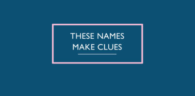 These Names Make Clues by ECR Lorac book Review logo