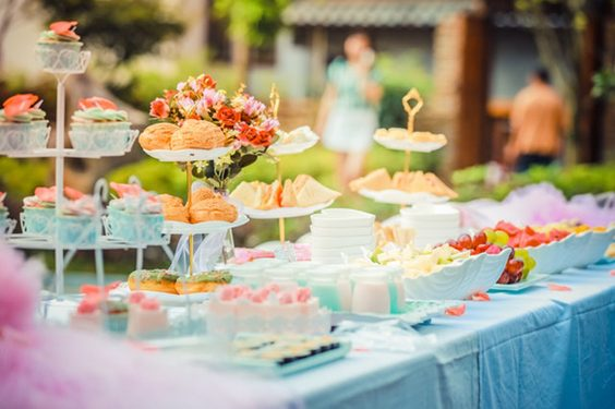 Tips You Should Know to Throw a Perfect Garden Party food