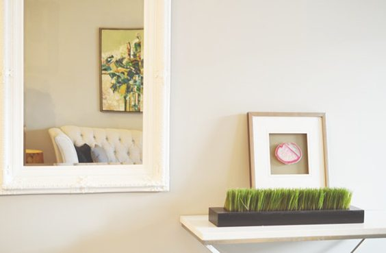 Tips for Redesigning Your House living room mirror