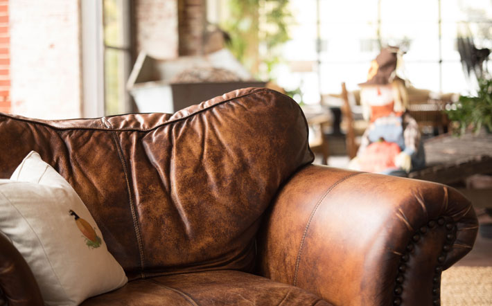 Tips to Clean Leather Products sofa