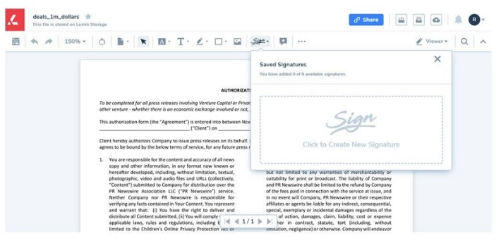 Top 5 PDF Tools Where You Can Create a Digital Signature Online graphic