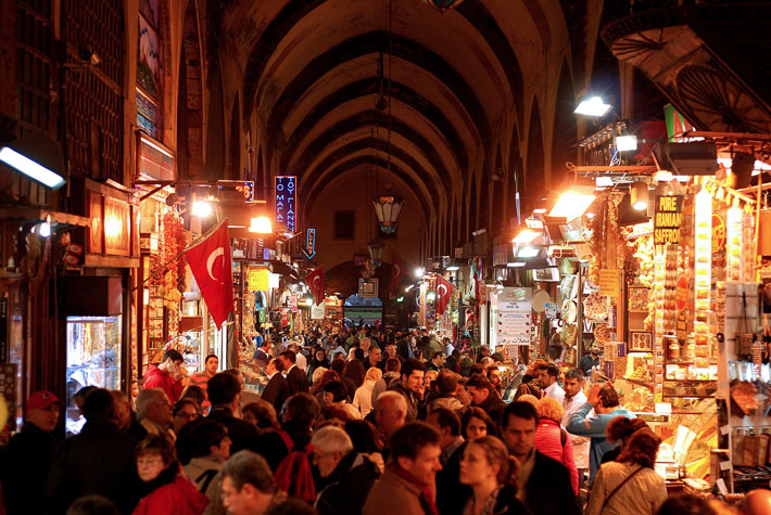 Top 7 Places to Visit in Turkey grand bazaar