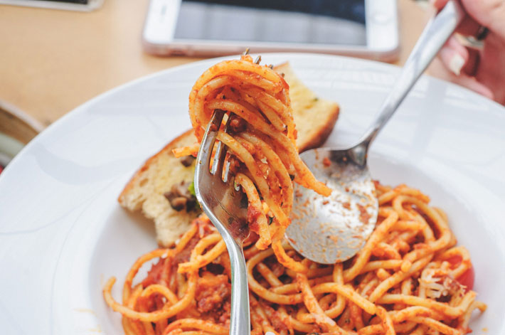 Top 9 Budget Dishes for Students spaghetti