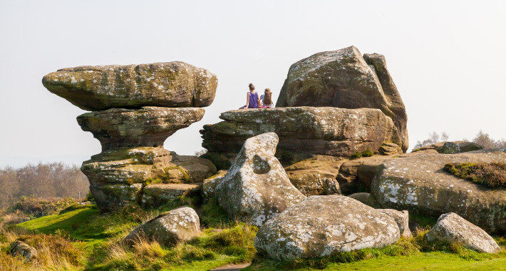 Top Holiday Destinations to Visit in the North of England for 2020 brimham rocks