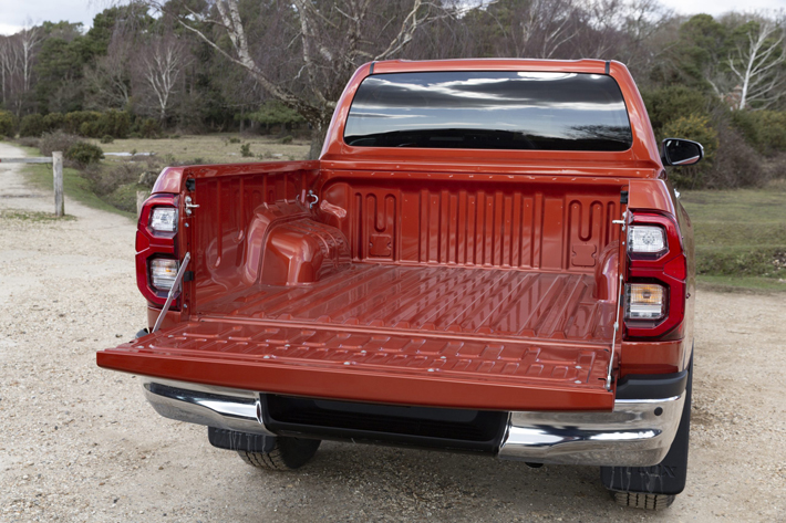 Toyota Hilux Invincible car Review rear