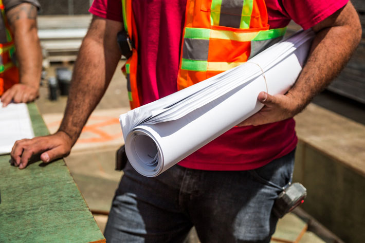 Traffic Management Tips for Construction Sites worker