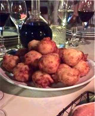 Une Table Corse corsica france restaurant review Beignets