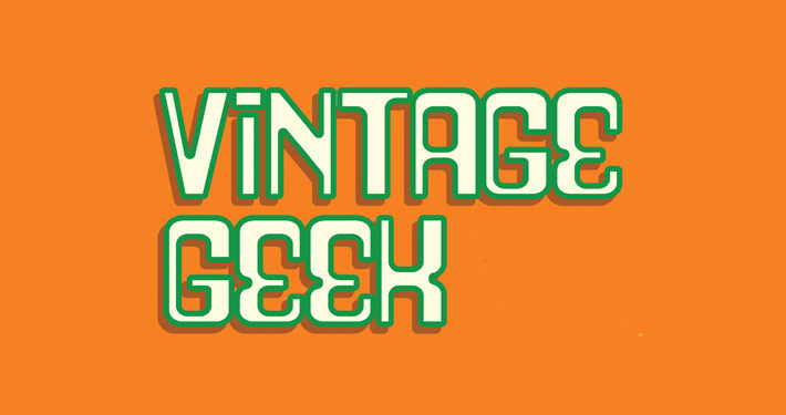 Vintage Geek Marshall Julius Book Review logo main