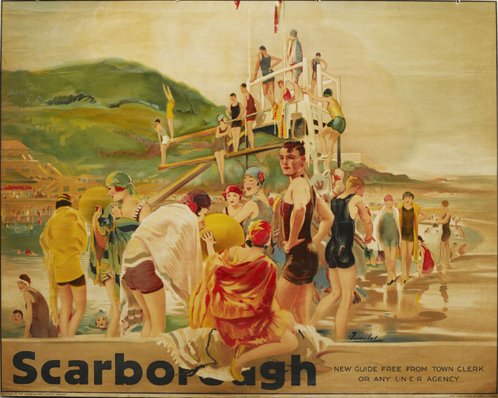 Vintage Tourism and Travel Posters of Scarborough gallery