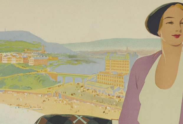 Vintage Tourism and Travel Posters of Scarborough main