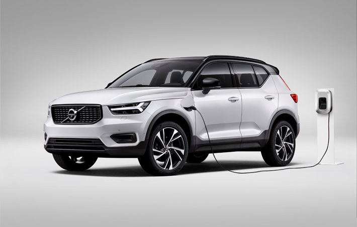 Volvo XC40 Recharge PHEV Hybrid Car Review hero