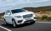 Volvo XC90 review front
