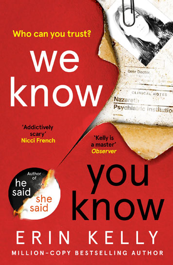 We Know You Know Erin Kelly Book Review cover