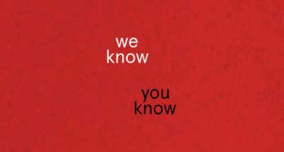 We Know You Know Erin Kelly Book Review main logo