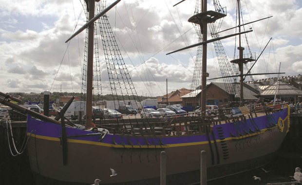 Whitby and Captain Cook's Endeavour main