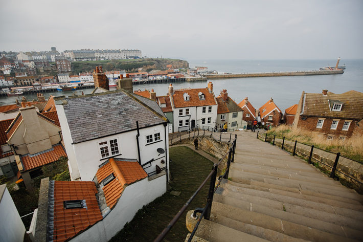 Whitby and the Dracula Legend steps
