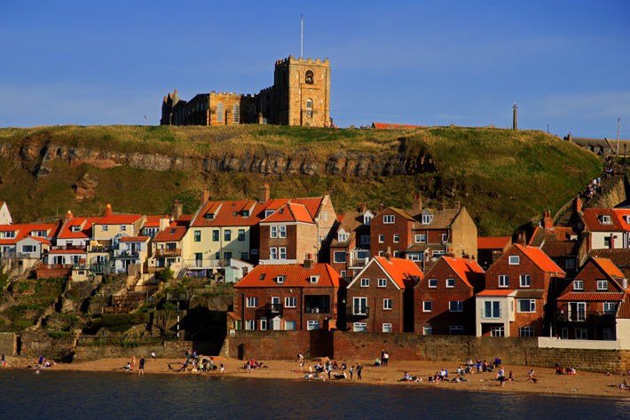 Whitby and the Dracula Legend town