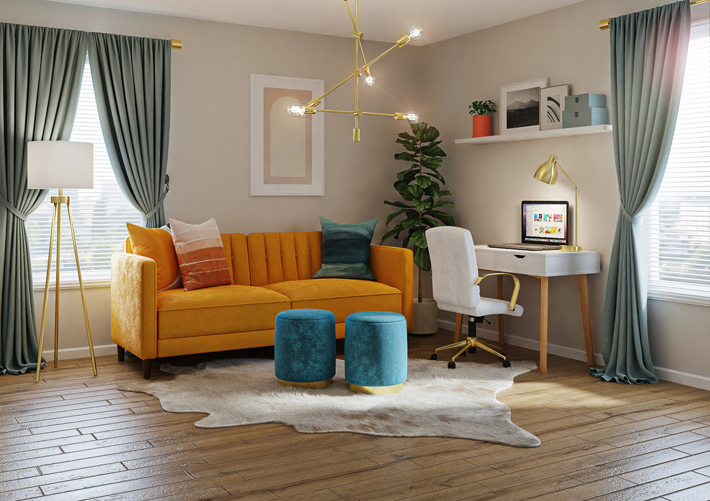 Why Choosing the Right Colours are Key to Creating a Good Vibe and Improving the Interior Design of Your Home Space flooring