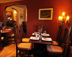 Ye Olde Bell Hote Restaurant review St Leger Bistro-by-the-Bar