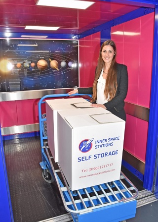 Yorkshire Company Named Best Independent Self Storage Facility in UK lift