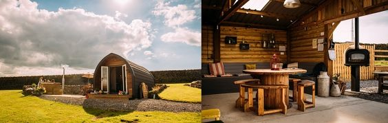 Yorkshire glampsites perfect for Autumnal glamping hot tub