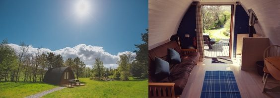 Yorkshire glampsites perfect for Autumnal glamping north york moors