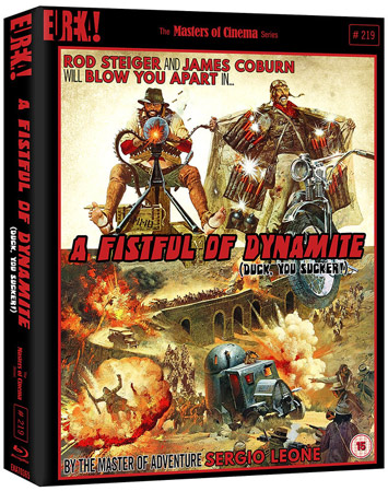 a fistful of dynamite film review cover