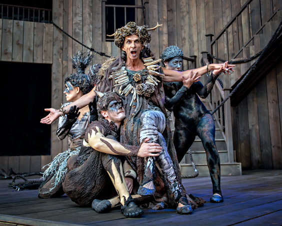 a midsummer night's dream review shakespeare's rose theatre july 2018 bottom