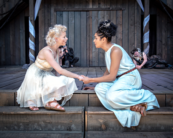 a midsummer night's dream review shakespeare's rose theatre july 2018 fairies